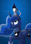 Luna and Tiberius by ThePhoebster
