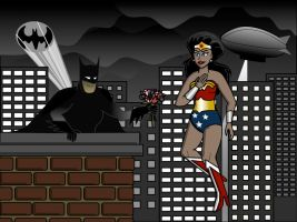 Unexpected (Batman/Wonder Woman) by philippegagnon