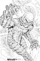 CREATURE FROM THE BLACK LAGOON by MikeWolfer