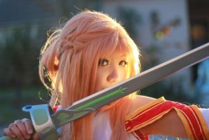 Asuna Cosplay with Lambient Light by firecloak