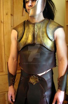 Greek armour front by glee72