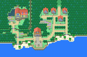Pokemon PP - Pallet Town by Demise-Hawk