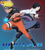 Naruto VS Sasuke by David-Y-F