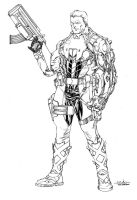 Cable - july28th2014 by SpiderGuile