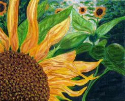 Sunflower No.1 by pensive-painter