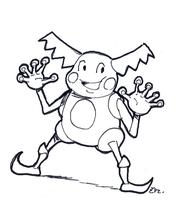 DSC 2015-05-26 Mr. Mime by theEyZmaster