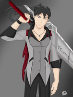 Qrow Branwen by wind2800