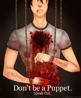 Don't be a Puppet. by SatiricalKat