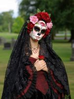 Handmade Mask-La Rosa Catrina by EffigyMasks