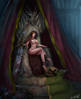 Queen Amiri Of The Stolen Lands by Evulchibi by Lithrac