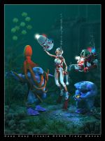 Deep Deep Trouble by Fredy3D