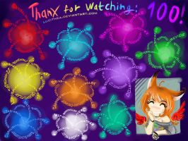 Thanks 100W! by Lucithea