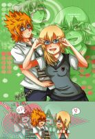 RokuNami Day:Glasses by Kiome-Yasha