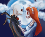 Jack and Sally by Smiley1starrs