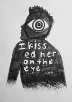 i kissed her on the eye by Mrs-Elric-613