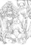 Witchblade, Angelus and Magdalena - Top Cow Girls by CaioMarcus-ART