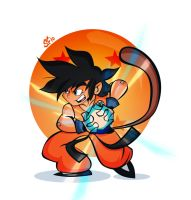 Son Goku by Tigerhawk01