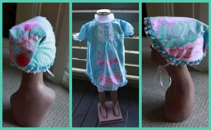 Vintage Toddler Dress by Catzilerella