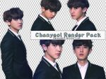 Pack PNG #72 Chanyeol (EXO in LINE) by XieraaaPark