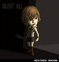Heather Mason (Silent Hill 3) by fryguy64
