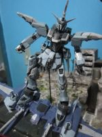 RG 1/144 Justice Gundam Deactivate Mode by s0tangh0n