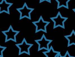 black and blue star bg by angelbunny1391