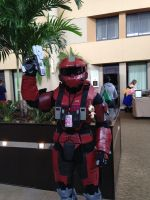 hALO ROBOT by Helkie-three