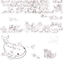 Every Pokemon Project WIP!!!! by Brecreep