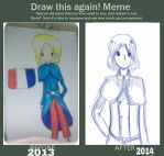 draw this again! meme by CupcakeOujo