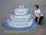 Jupiter Jubilee 2015 - Blow out the candles! by AmazingStreetPaint