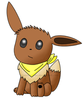 Confused Eevee by CyanoDrake