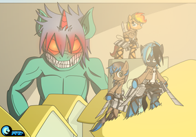 Gift: Attack on Titan Equestria by AZ-Derped-Unicorn