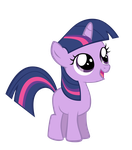 Vector Filly Twilight Sparkle by Kyss.S by KyssS90