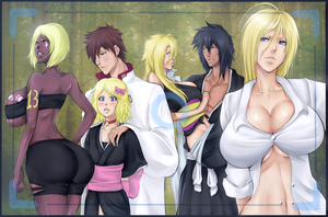 Commission: Bleach OCs group by Kamest