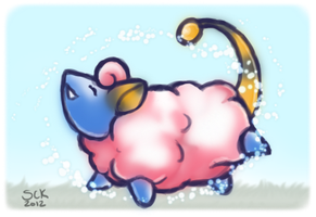 . Baa Baa, Shiny Sheep . by ShadowCatsKey