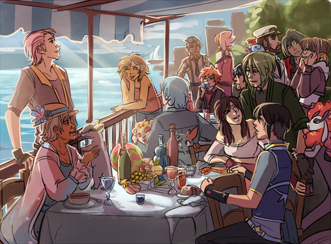 Luncheon of the Ohanan Party by thegravelight