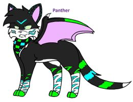 Panther -Request 4- by galienyancats