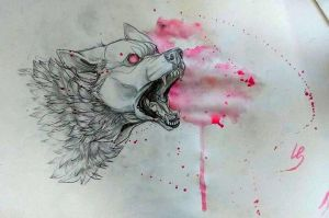 Bad wolf by Wolfunny