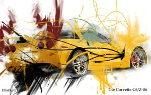 Corvette C6-Z06 Wallpaper by EliasKell