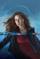 Doctor Who Card Game Amy Pond by JonHodgson