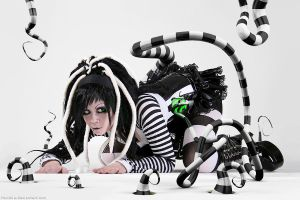 Beetlejuice Tentacle land 2 by hoschie