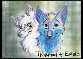 Thormod and Erold by Louvy