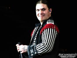 SHINEDOWN: Brent Smith 006 by rockography