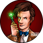 Cartoon 11th Doctor (w/Video Link) by Chrisily
