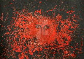 Burning Red by Isha Trivedi by trivediisha