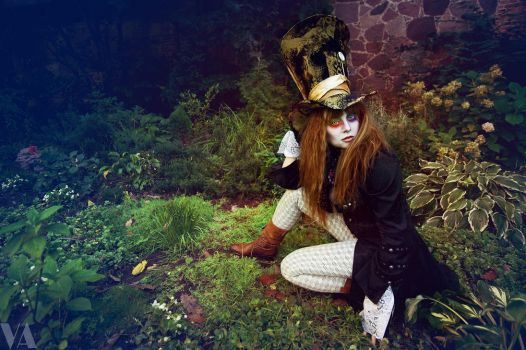 Mad Hatter Garden by Voodica