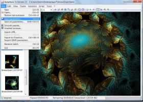 Apophysis how to save and open your work by Scriptscriber