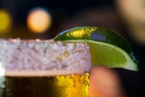 The Dos Equis and the Lime by lifeinedit