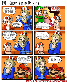 Super Mario Origins by BrokenTeapot
