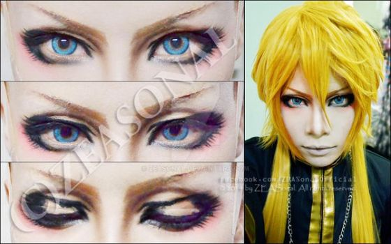 Review : Eyes Makeup - Alone by Zeasonal